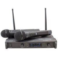 I49B204MU-C MICROFONO INALAMBRICO DE MANO DOBLE UHF