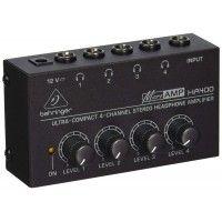 HA400  MICROAMP AMPLIFICADOR DE AUDIFONOS DE 4-CANALES   BEHRINGER