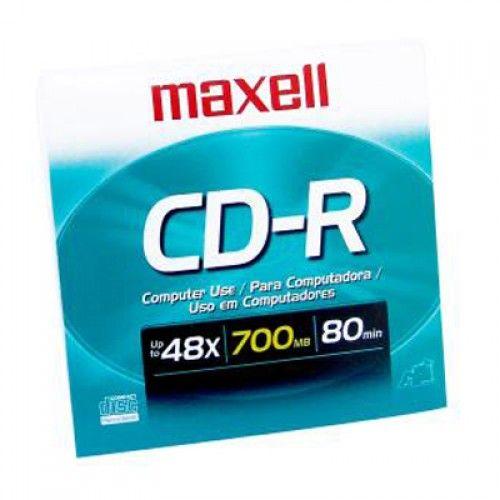 CD-R MAXELL 700MB EN SOBRE
