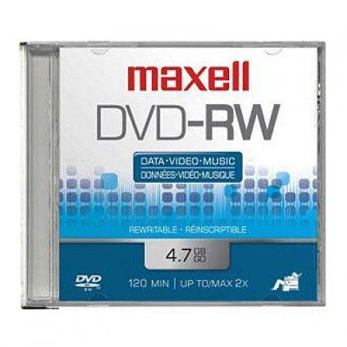 DVD-RW MAXELL 4.7GB 2HRS