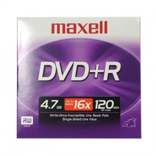 DVD+R MAXELL 16X SOBRE