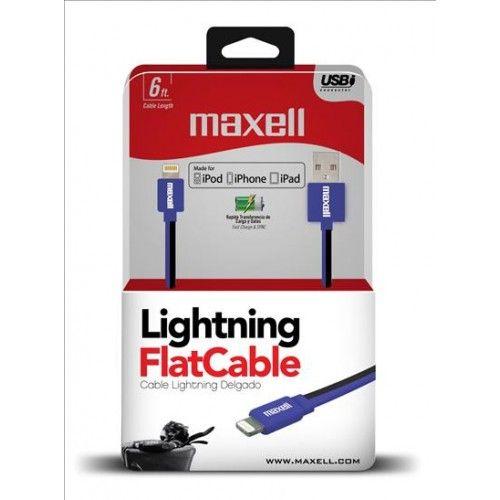 APPL-FLT 6FT USB-LIGHTING FLT BLACK/BLUE