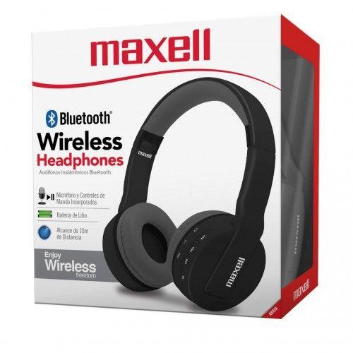 MXH-BT800 BT HEADPHONE W/MIC BLACK