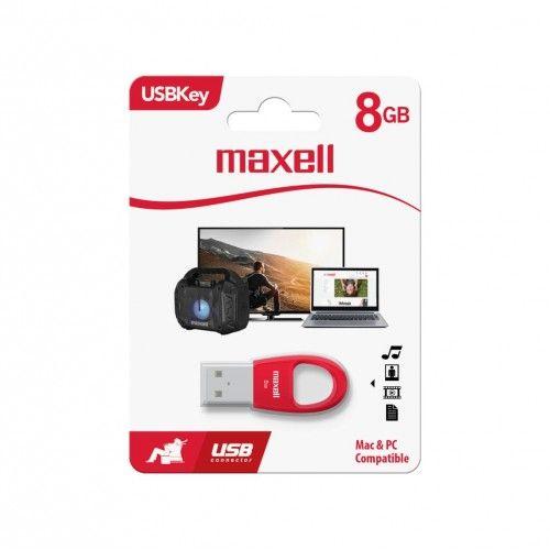 USBK-8 USB KEY 8GB RED