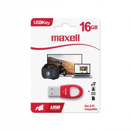 USBK-16 USB KEY 16GB RED
